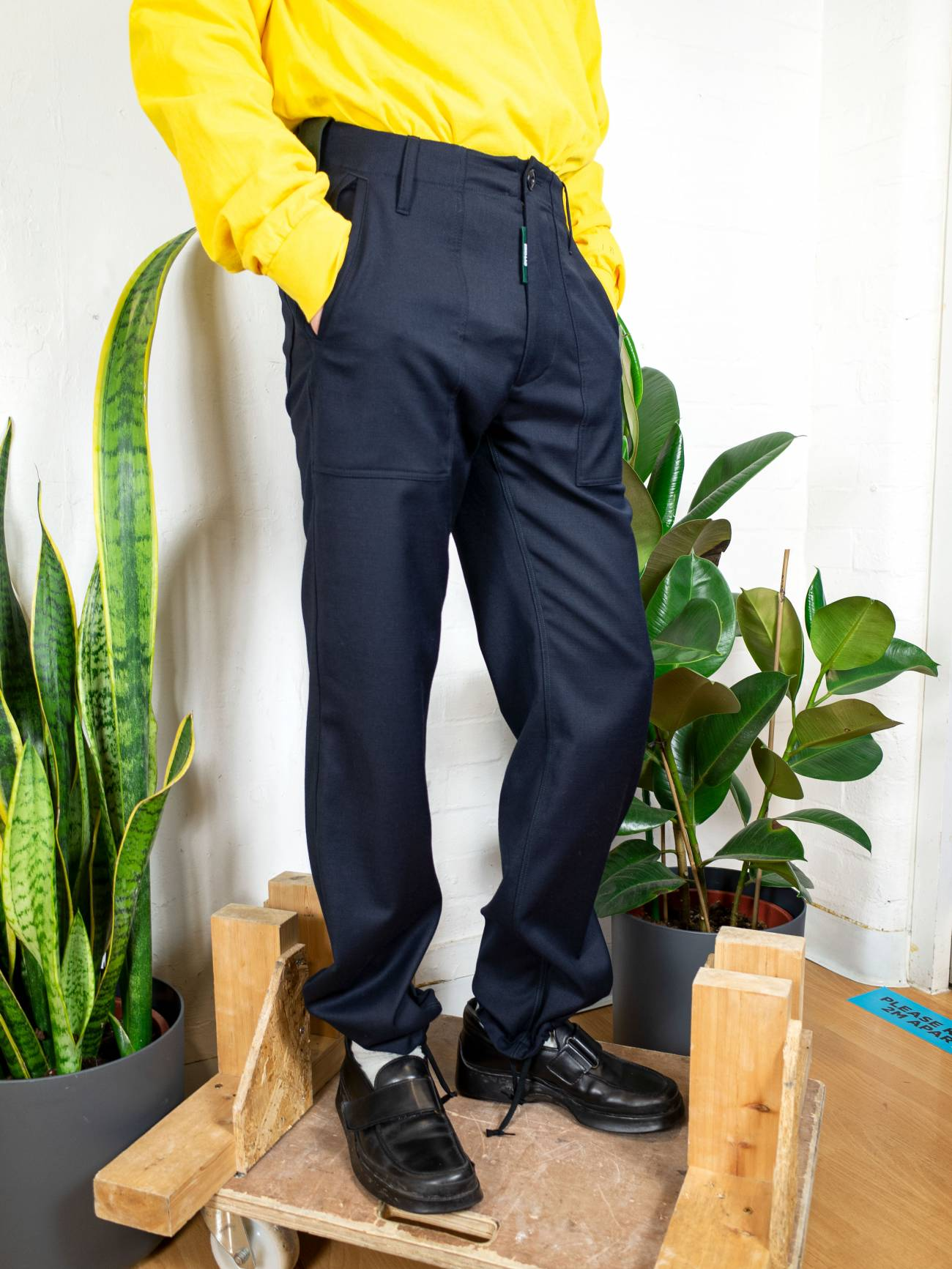 Booth Trousers - Navy