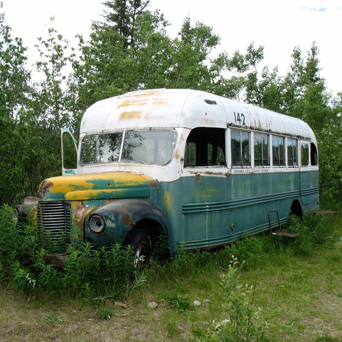 Fairbanks Bus 142
