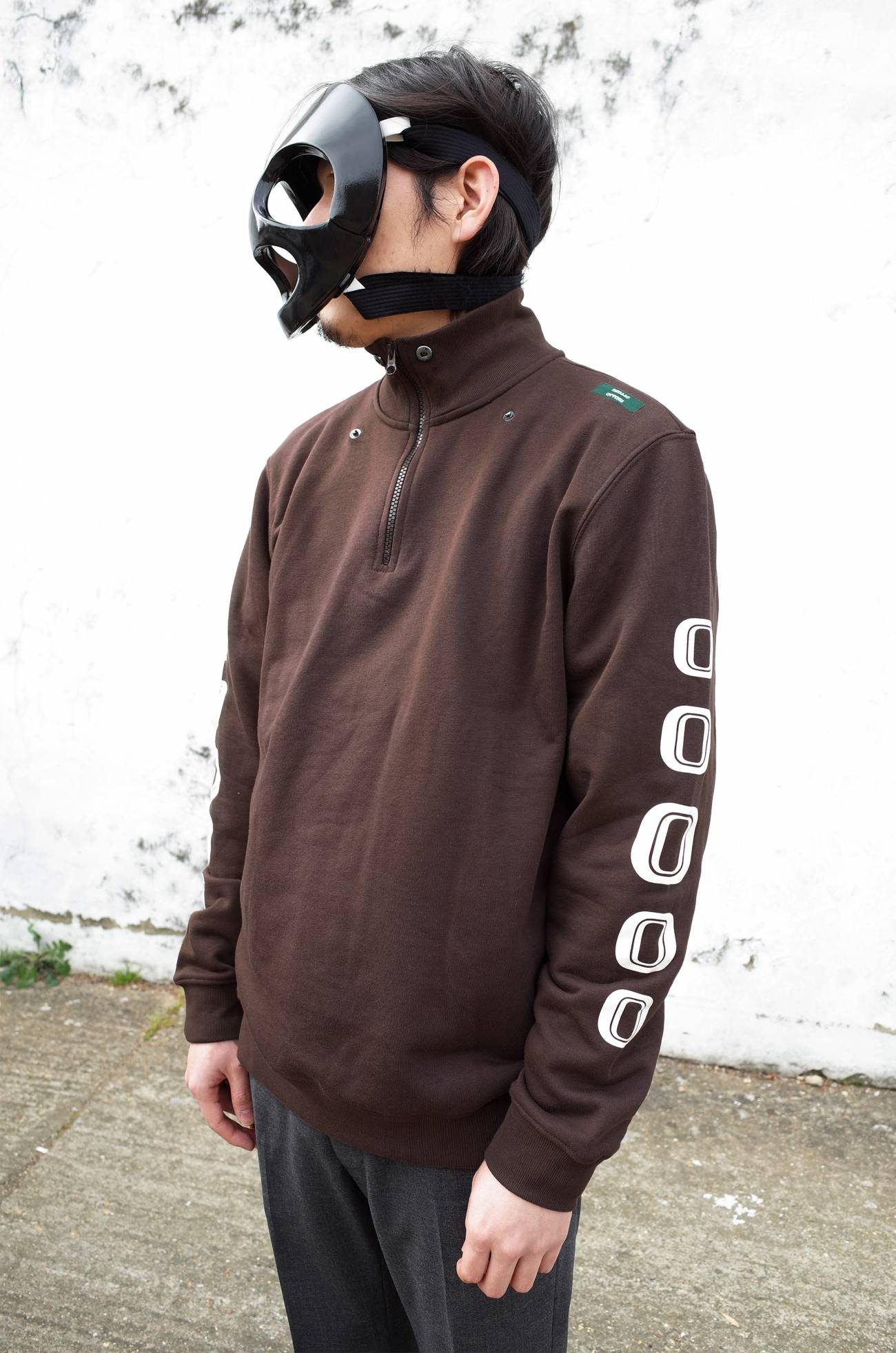 Studio Zip Up - Mud